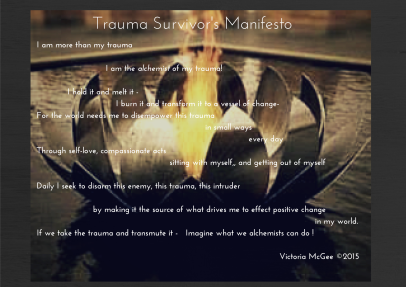 Trauma Survivor's Manifesto